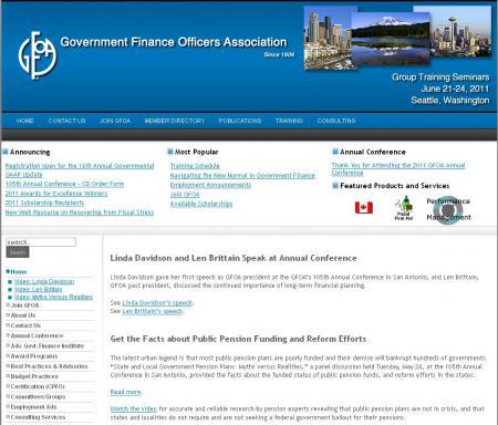 GFOA US & Canada
