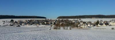 Winterlandschaft lädt zum Wandern ein