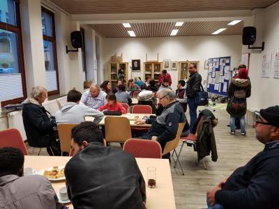 Montagscafé beim Roten Kreuz in Lehrte