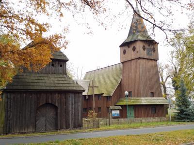 """Bild 02: Holzkirche """"Heilige Jungfrau Maria"""", Chlastawa"""