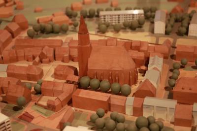 Stadtmodell von Calau