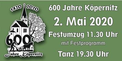 600 Jahre Köpernitz