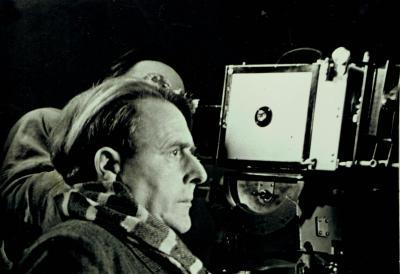 Wolfgang Kaskeline vor Kamera