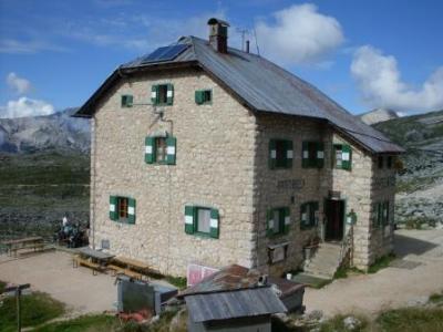 Egerer Hütte. Foto von Thomas Most
