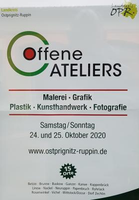 Tag des offenen Ateliers im Landkreis OPR
