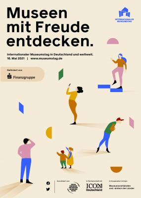 Plakat Museumstag 16. Mai 2021