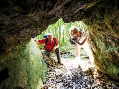 Blick in die Schinderhanneshöhle