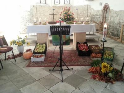 Herzliche Einladung zum Erntedankgottesdienst in unserer Stadtpfarrkirche zu Beelitz!