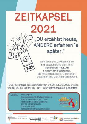 Zeitkapsel-Projekt im JuST Sondershausen