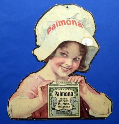Werbung für feine Pflanzenmargarine