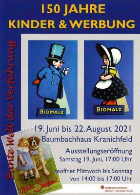 Plakat Ausstellungseröffnung