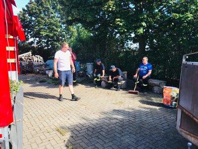 Fotoalbum Dankeschön an alle Helfer zum Arbeitseinsatz am 11.07.2020 in Latdorf