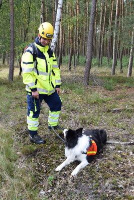 Fotoalbum Prüfungen der Rettungshundestaffel