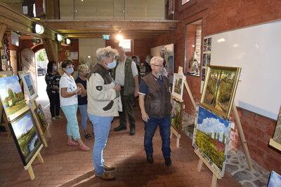 Fotoalbum Ausstellungseröffnung Alt Daber