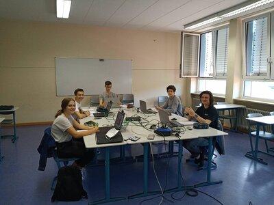 Fotoalbum Das WHG beim Bonner Mathematik-Turnier 2020