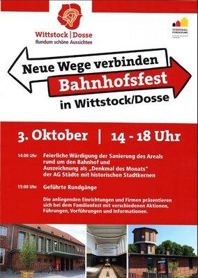 Fotoalbum Bahnhofsfest - Verleihung