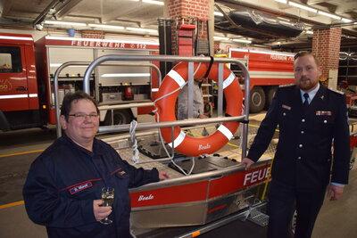 Fotoalbum Übergabe des neuen Rettungsbootes an die Freiwillige Feuerwehr Perleberg