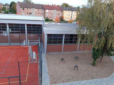 Fotoalbum Das neue Bewegungsangebot auf dem Schulhof