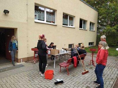 Fotoalbum Subbotnik am Vereinsheim