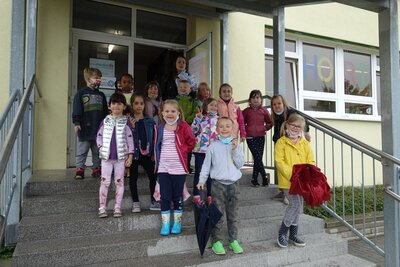 Fotoalbum Busschule für Erstklässler*innen
