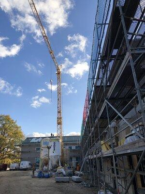 Fotoalbum Hort- und Kitaneubau Holbeinstraße schreitet voran  - Bilder von der Baustelle