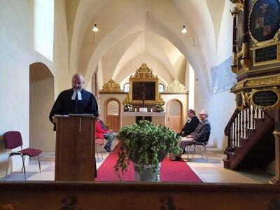 Fotoalbum Begrüßungsgottesdienst Pfarrer D. Sterzik