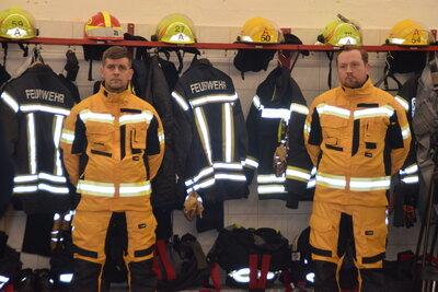 Fotoalbum Übergabe der neuen Waldbrandbekleidung an die Freiwillige Feuerwehr Perleberg
