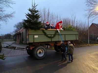 Fotoalbum Weihnachtsmannaktion