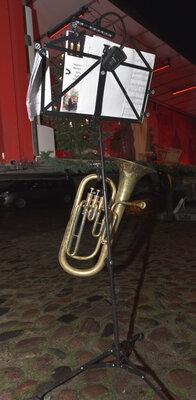 Fotoalbum Gottesdienst mit Krippenspiel auf dem Kremmener Marktplatz