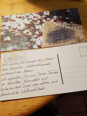 Fotoalbum Schneemännerproduktion als kleinen Weihnachtsgruß für die Rhader LandFrauen