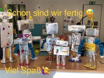 Fotoalbum Roboterbauanleitung