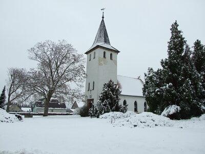Fotoalbum Winterbild von der Kirche Wildgrube vom Jan. 2021