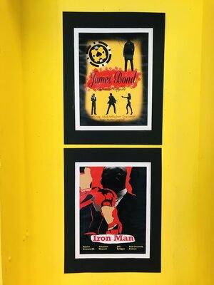 Fotoalbum Aktuelles Kunstprojekt: Neuinterpretation von Filmplakaten
