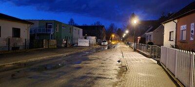 Fotoalbum Küstriner Straße_Beleuchtung_vorher_nachher