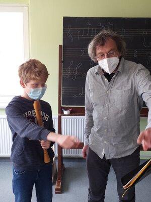 Fotoalbum Blockflöten-Workshop
