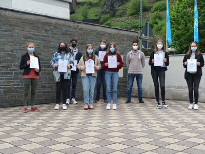 Fotoalbum WHG beim Landeswettbewerb Mathematik erfolgreich