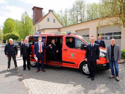 Fotoalbum Neue Ausstattung für die Feuerwehren in Schenklengsfeld