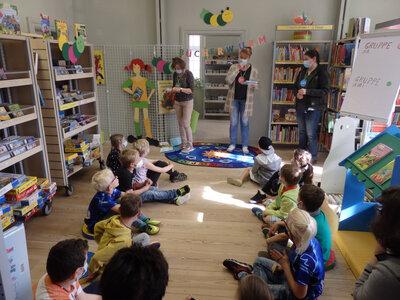 Fotoalbum Bücherwurmfest für Kinder anlässlich 10 Jahre Bibliothek im Herbst'schen Haus