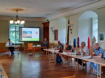 Fotoalbum Erste Stadtverordnetensitzung im Schloss