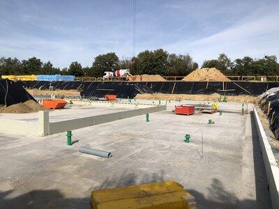 Fotoalbum Hallenbad Falkensee - Bilder von der Baustelle