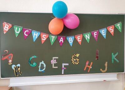 Fotoalbum Buchstabenfest der 1. Klassen