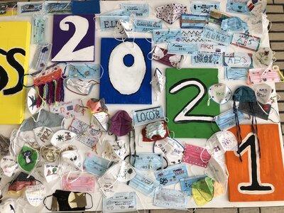 Fotoalbum Denkmal des Abschlussjahrgangs 2021