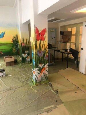 Fotoalbum Schulflur-Renovierung