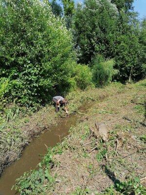 Fotoalbum Arbeitseinsatz - Den Hochwasserschäden den Kampf ansagen