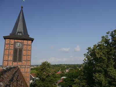 Fotoalbum Sankt Sophien Kirche in Brüssow. Es geht voran.