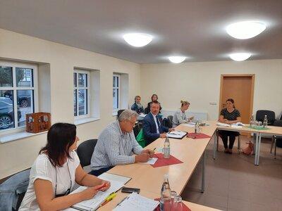 Fotoalbum Amtsausschusssitzung in Preddöhl am 16.08.2021