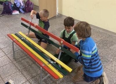 Foto des Albums: Fleißige Handwerker in der Schule (06.09.2021)