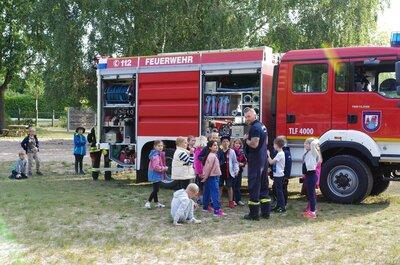 Fotoalbum Feuerwehr zu Besuch