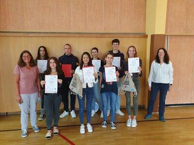 Fotoalbum Kreative Schülerinnen und Schüler gewinnen Wochenende in Dijon