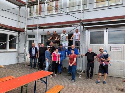 Fotoalbum Freiwilligentag in Wippershain 2021